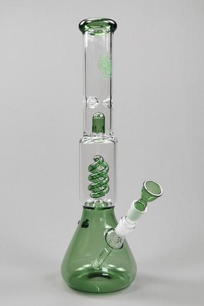 Jelly Joker Trip Bong 44cm green Front