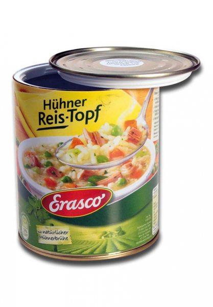 Versteckdose Hühner Reis- Topf