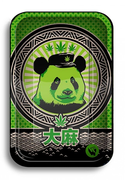 Black Leaf Tray 420 Animals